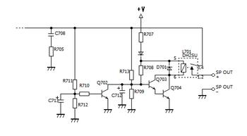 BOSEのスピーカー保護回路