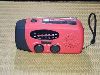 動かない防災ラジオ