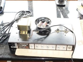 FLIP300FCの回路部を取り出したところ