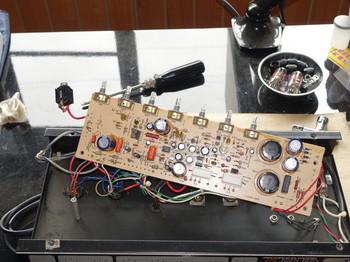 FLIP300FCの基板の部品面
