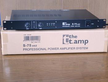 新品で購入したThomannのS-75mk2