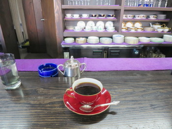 茜屋珈琲店軽井沢駅前店のコーヒー