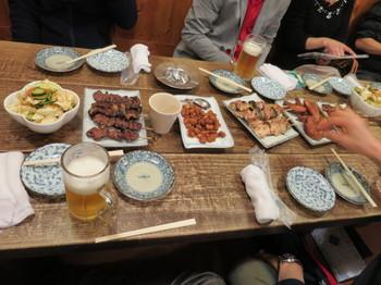 伊那・昭和軒で宴会