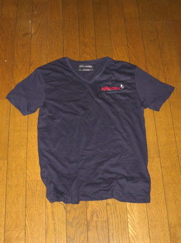 景品のTシャツ・表