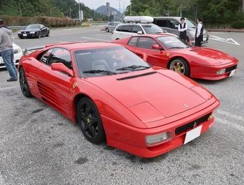 参加車両:フェラーリ348(6MT仕様)
