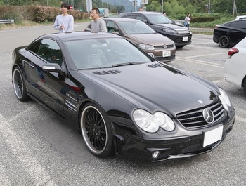 参加車両:SL55AMG