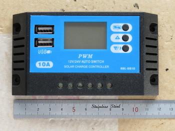新しく購入したチャージコントローラーRBL-8810