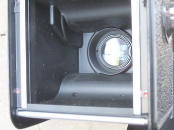 ローライコード3型のフィルム室
