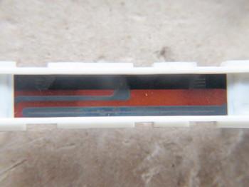 スライドボリウムの抵抗体:清掃前