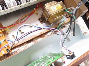 電源回路部周辺の配線