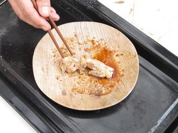 K社長の焼いた鶏肉