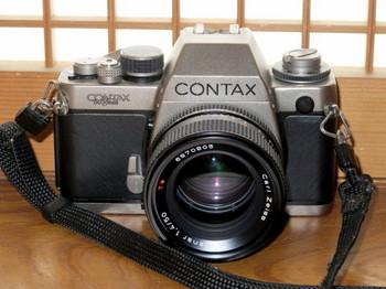 購入したCONTAX S2改