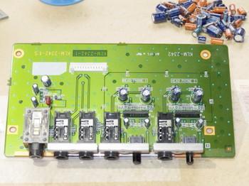 アナログ出力部の基板