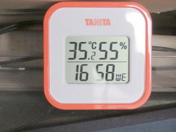 室温は気温と同じ