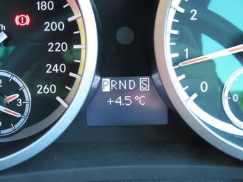 気温は4.5度