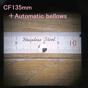 CF135mm時のファインダー映像