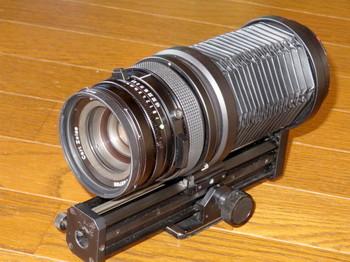 ハッセルブラッドのマクロレンズCF135mm+オートマチックベローズ