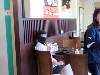 ヘルメットのレンタルにはマスクが必要