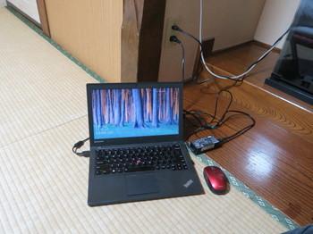 PCをWiFiでネット接続させる