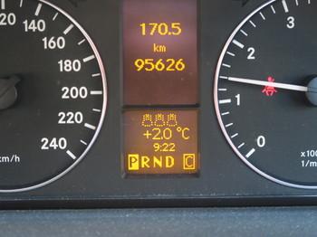 気温は2度しかない