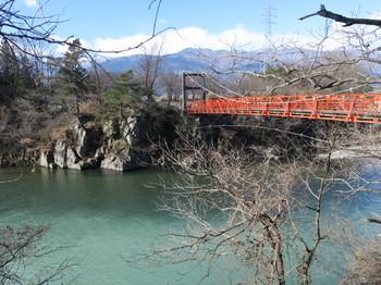 天竜川と橋