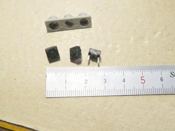 今回の修理で使う中古の小型タクトスイッチ