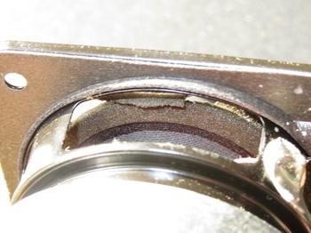 コーン裏側にもエッジが貼られている
