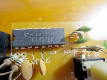 ARION・MDS-1のアナログスイッチはTC4027BP