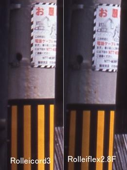 電柱看板の部分を拡大